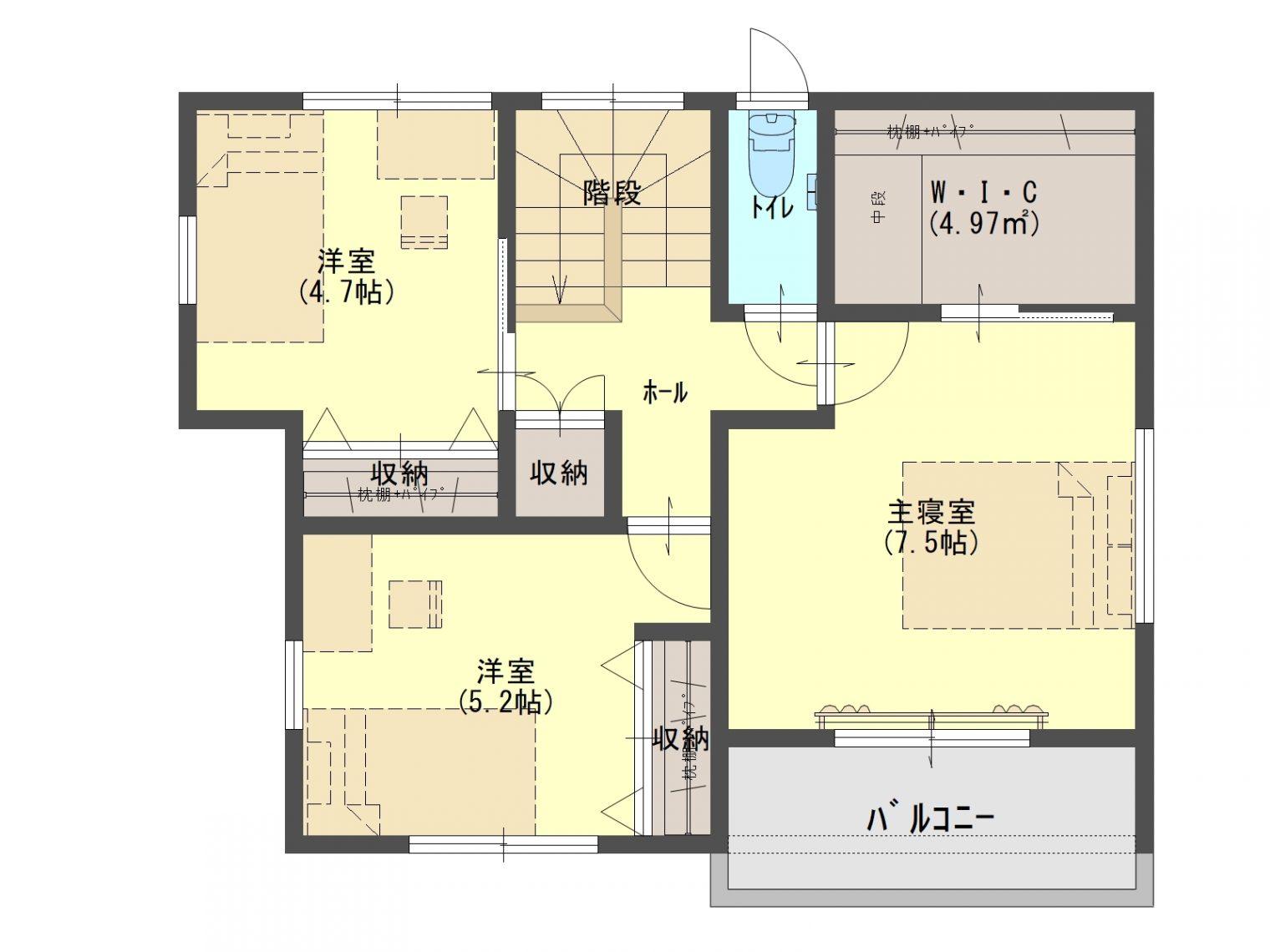 山手町 新築戸建て 【建築中・2021年7月完成予定】13